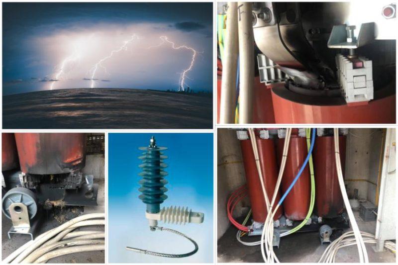 scaricatori la protezione di una cabina elettrica