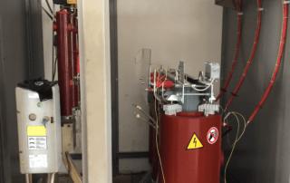 Trasformatore in Cabina Elettrica