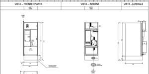 quadro media tensione per cabina elettrica