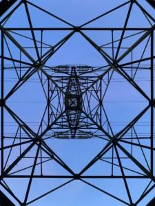 linea elettrica di connessionie
